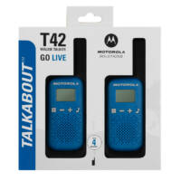 Motorola TALKABOUT T42 kék walkie talkie