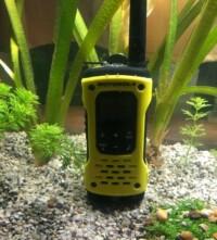 Motorola T92 H2O az akváriumban