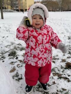 Walkie talkie télen, hóban