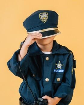 Gyerekek, játék, rendőrös - Motorola Talkabout T42 walkie talkie