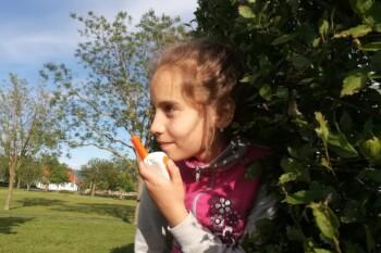 Gyerekek, játék a szabadban, Motorola Talkabout T42 walkie talkie