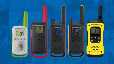 Motorola engedély nélkül használható PMR446 walkie talkie-k