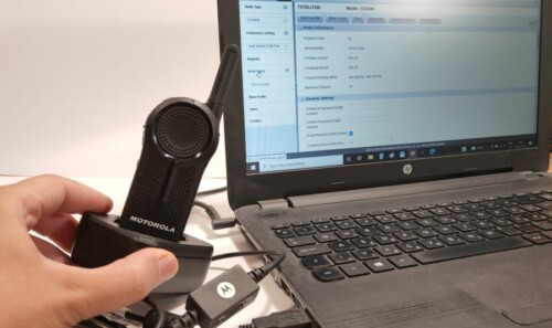 Motorola CLR446 adóvevő programozása