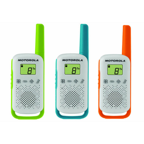 Motorola TALKABOUT T42 Triple Pack walkie talkie